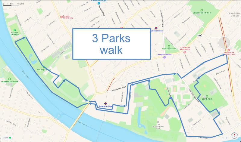 3 Park walk